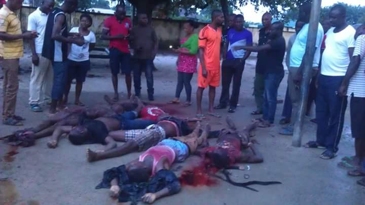 Militant Leader And His Commanders Killed In Rivers (Graphic Photos)