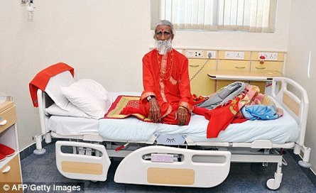 Meet the Indian man who hasn't eaten or drunk anything for 70 years!!!