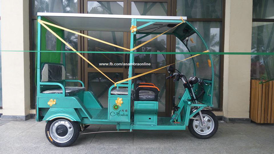 Nigerian Manufactures The First African Solar Powered Tricycle (keke-napep)