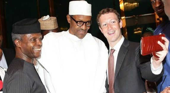 Mark Zuckerberg Comes Back To Nigeria, Meets Buhari And Osinbajo