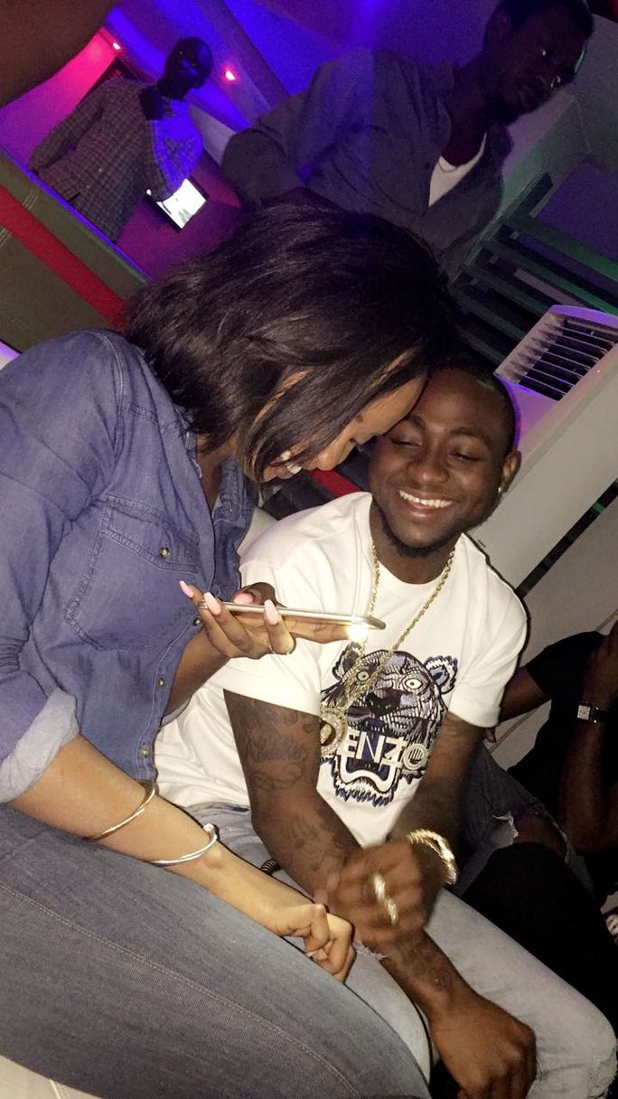 See Davido And His New Girlfriend Having Fun With Friends (Photos, Video)