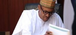 Buhari At Federal Executive Council Meeting (Photos)