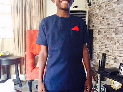2face Idibia's First Son Nino Is All Grown Up In New Photos
