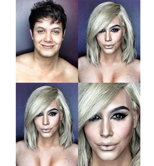INCREDIBLE!!! DAD TRANSFORMS HIMSELF INTO KIM KARDASHIAN, BEYONCE, RIHANNA AND OTHER CELEBRITIES WITH JUST MAKEUP