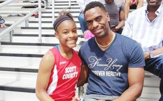 Olympic sprinter Tyson Gay's 15 year-old daughter Trinity shot dead in restaurant