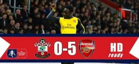 FA CUP VIDEO: Southampton 0 – 5 Arsenal  All Goals & Highlights 2016/175
