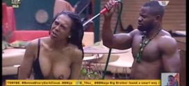 BBNaija: Fear Factor – Day 31's Task Woman Boobs Exposed