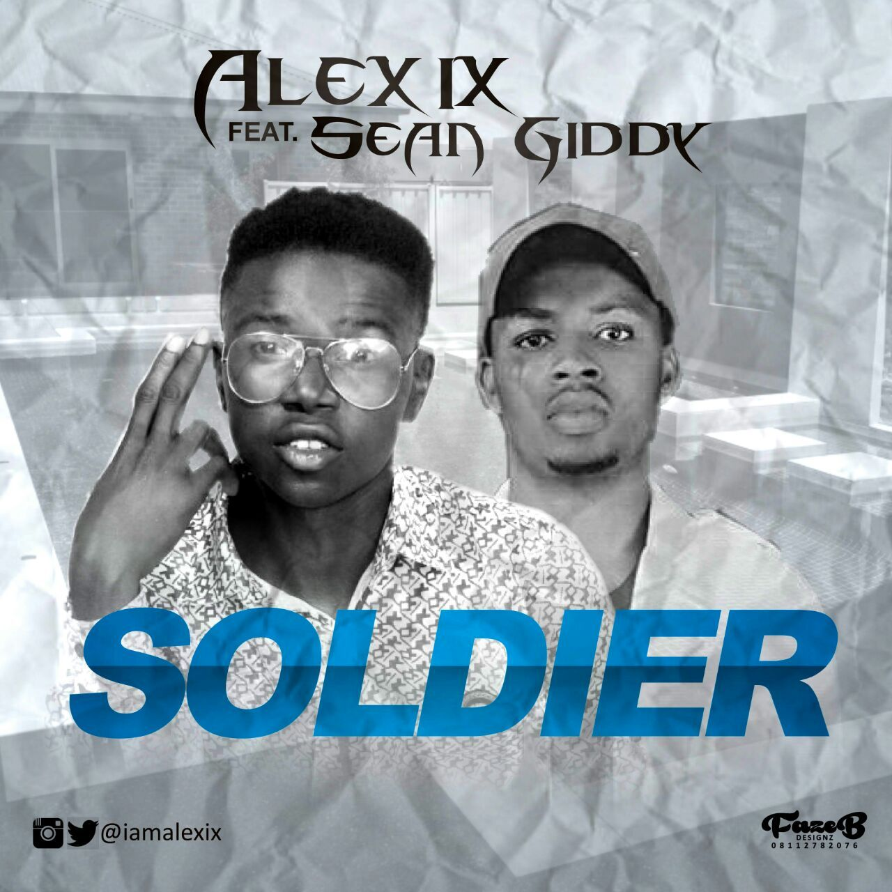 Alex6ix – Soldier Ft Sean Giddy