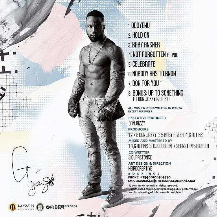 Iyanya – Celebrate (Prod. By Baby Fresh)