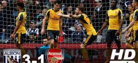 VIDEO: West Bromwich Vs Arsenal 3-1 EPL 2017 All Goals & Highlights