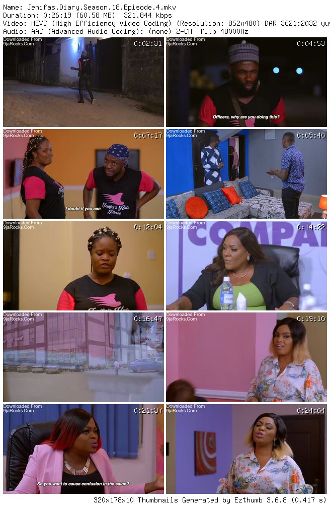 Jenifa's Diary Season 18 Episode 4 – Trouble [S18E04]